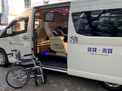 Easy to get on and off from a wheelchair
