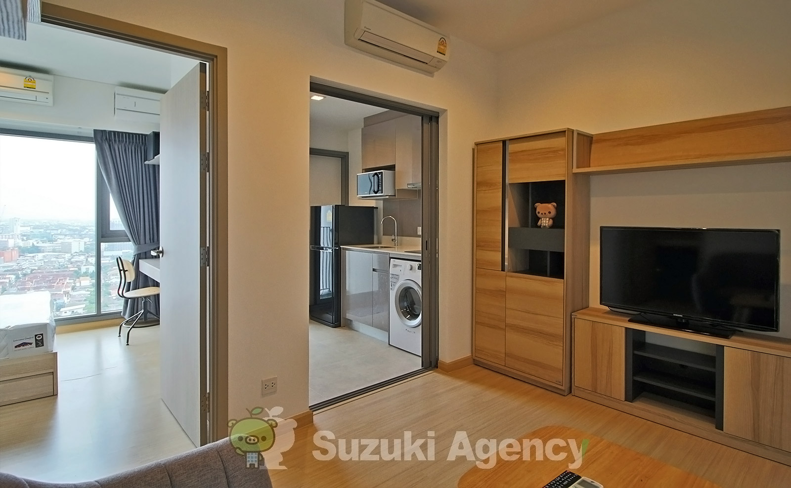 Whizdom Connect Sukhumvit:1Bed Room Photos No.1