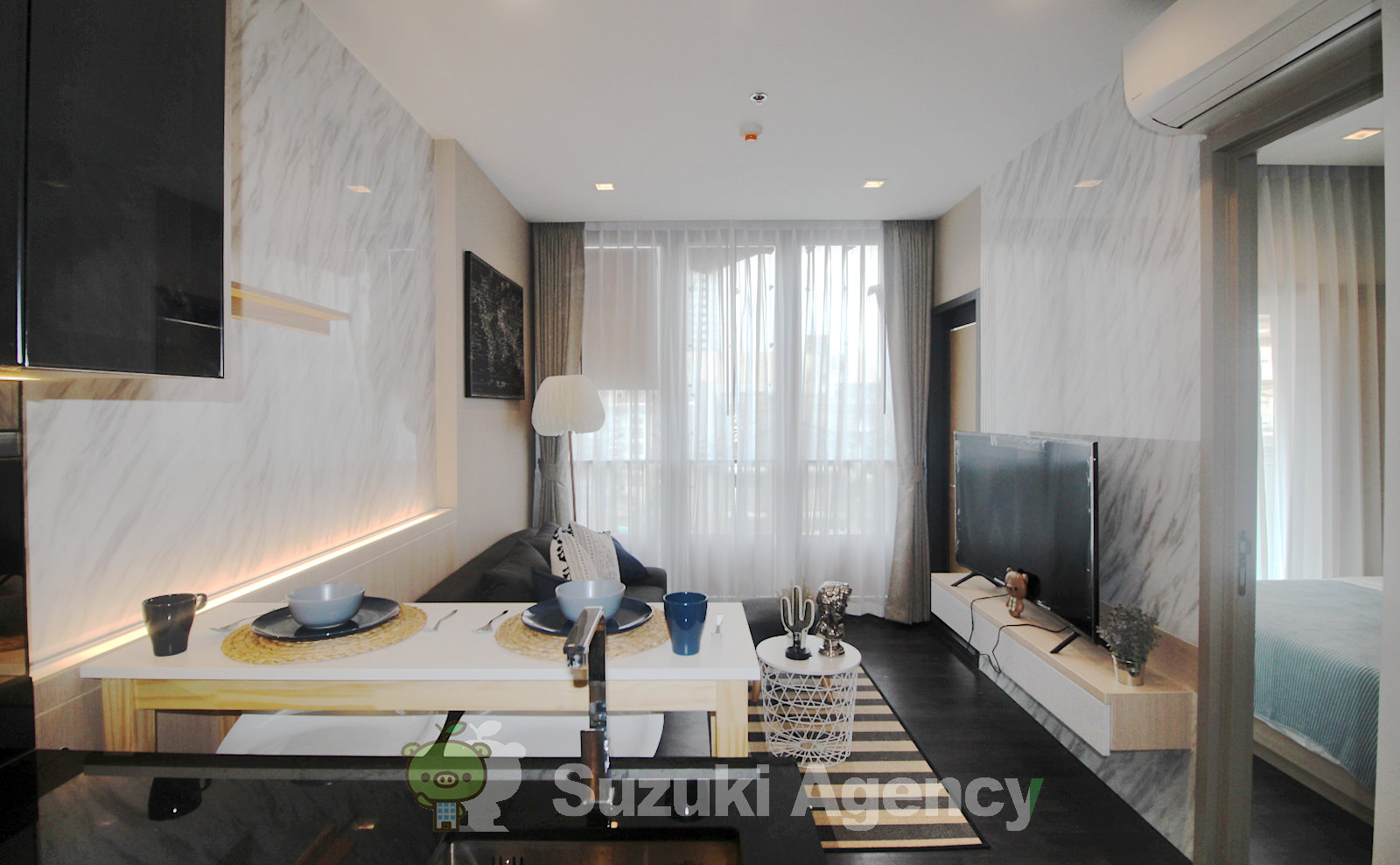 The Line Asoke - Ratchada:1Bed Room Photos No.1