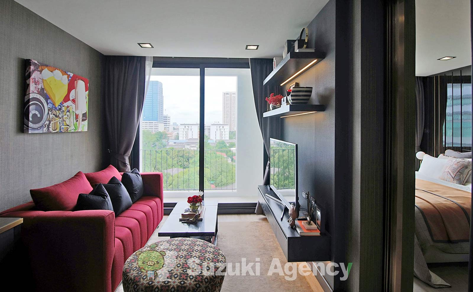 Silver Thonglor Apartment:1Bed Room Photos No.1