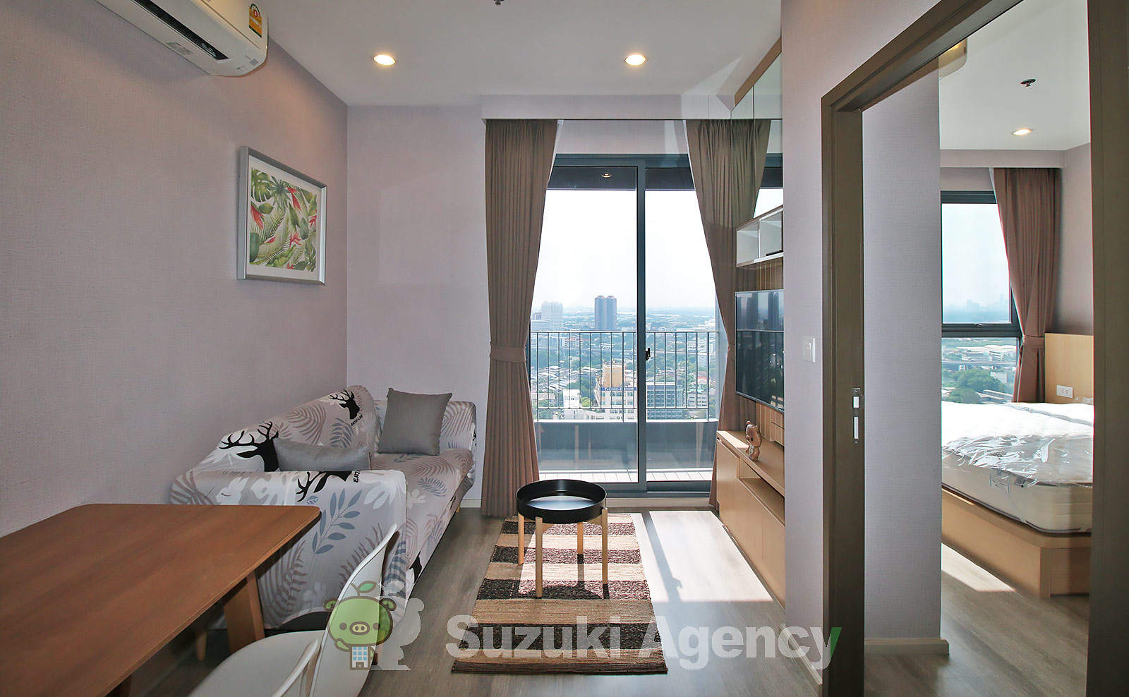 Ideo Mobi Sukhumvit 66 (Owner No.89687):1Bed Room Photos No.1