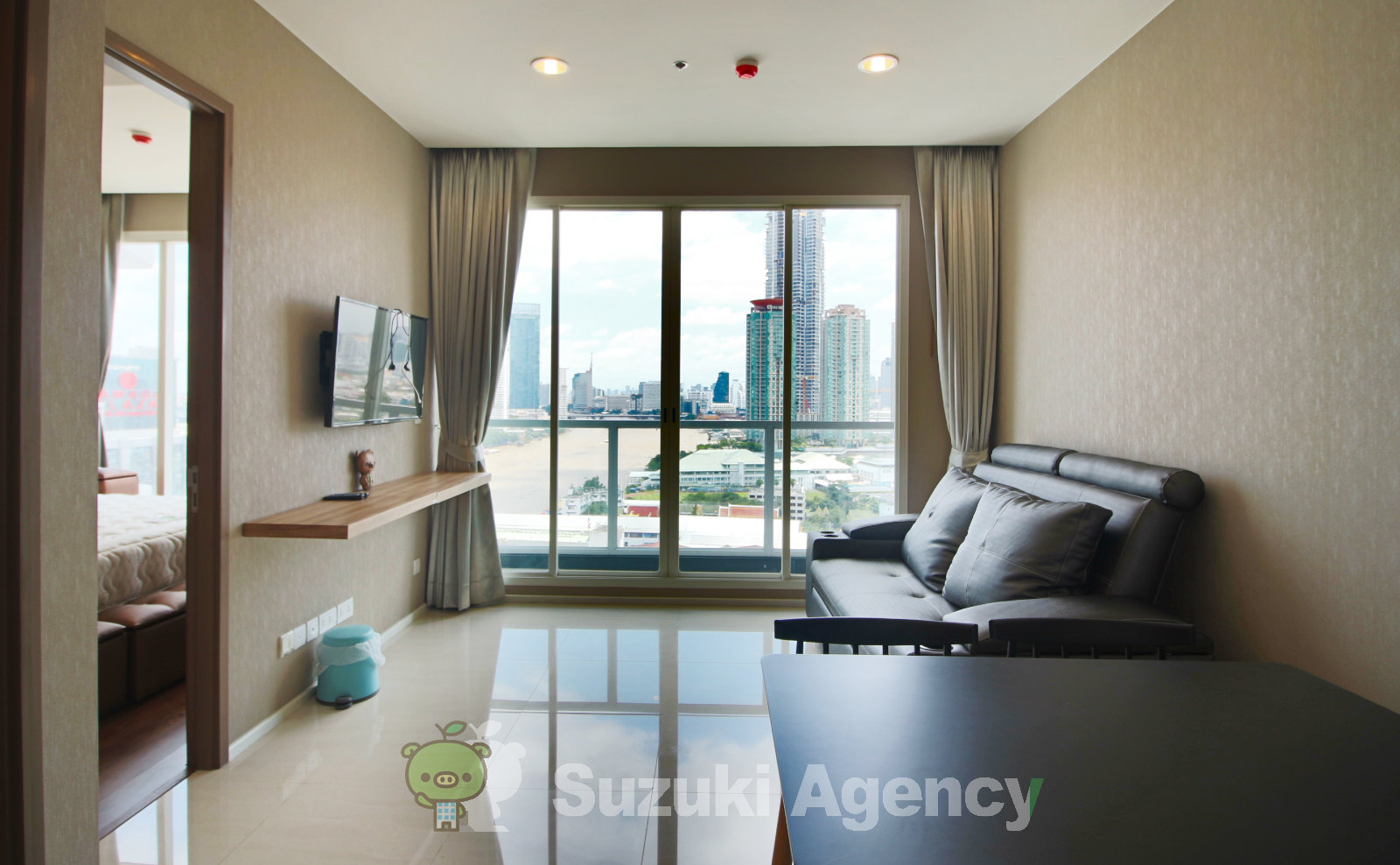 Menam Residences Condominium:1Bed Room Photos No.1