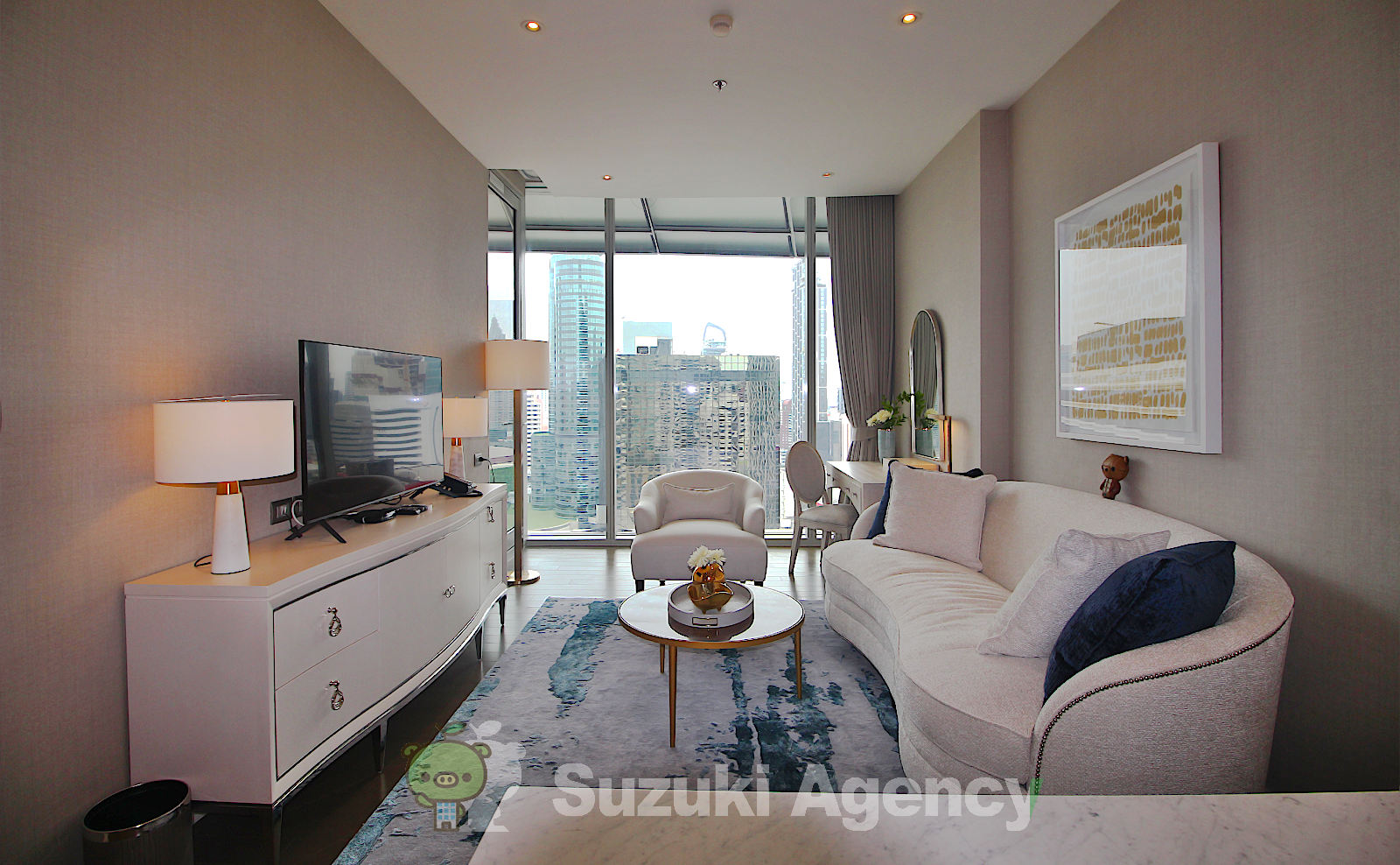 Magnolias Ratchadamri Boulevard Service Residence:1Bed Room Photos No.1