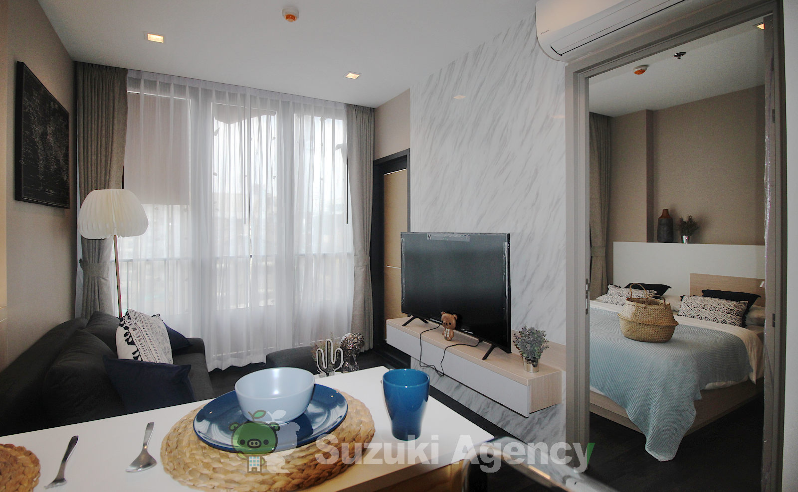 The Line Asoke - Ratchada:1Bed Room Photos No.2