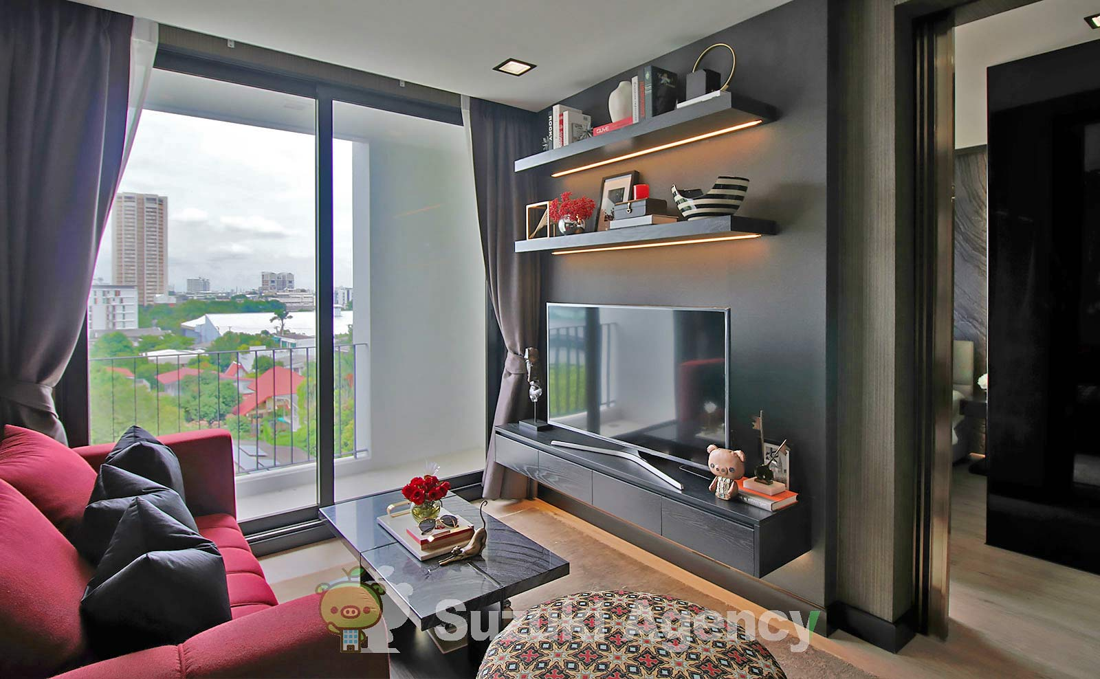 Silver Thonglor Apartment:1Bed Room Photos No.2