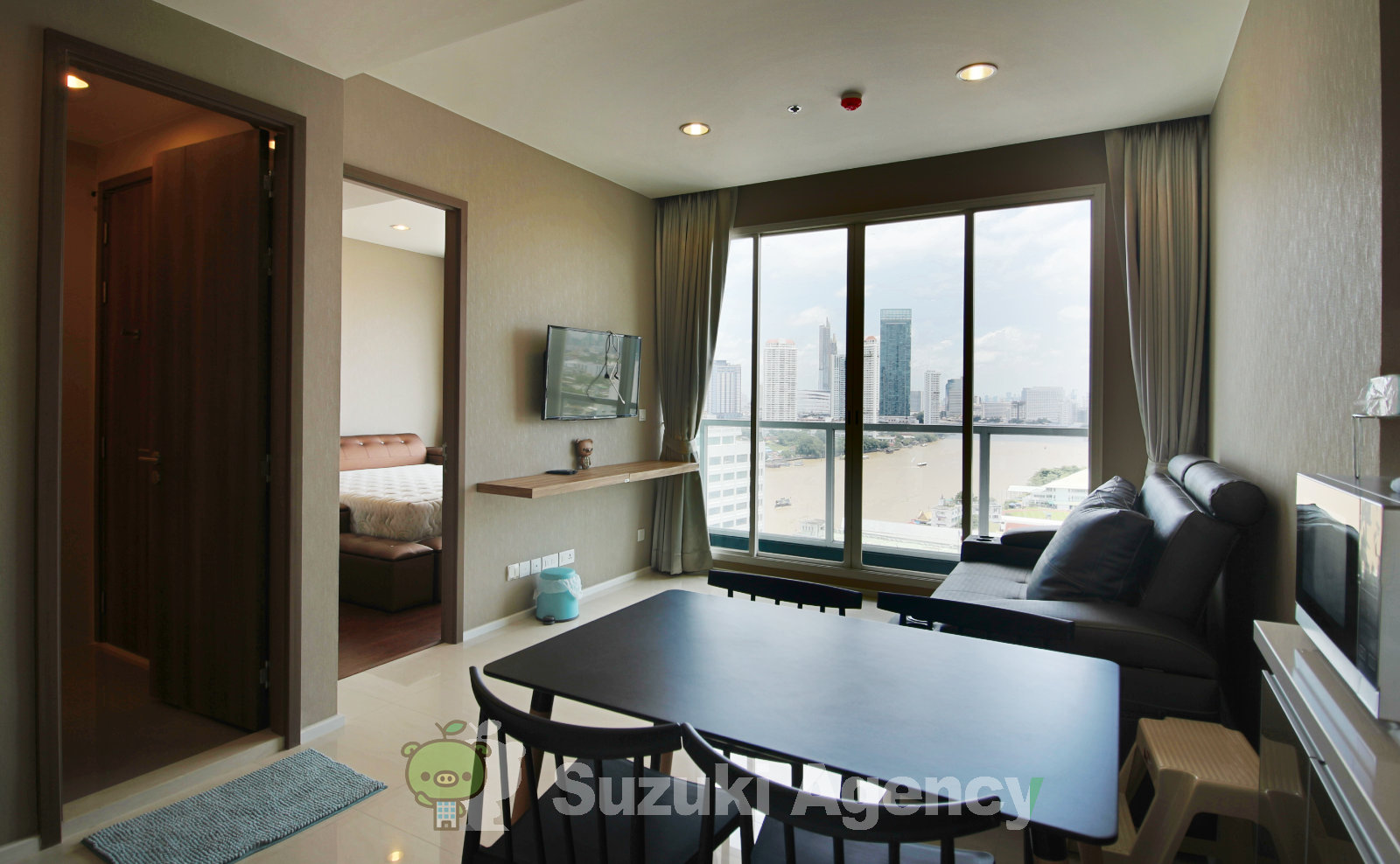 Menam Residences Condominium:1Bed Room Photos No.2