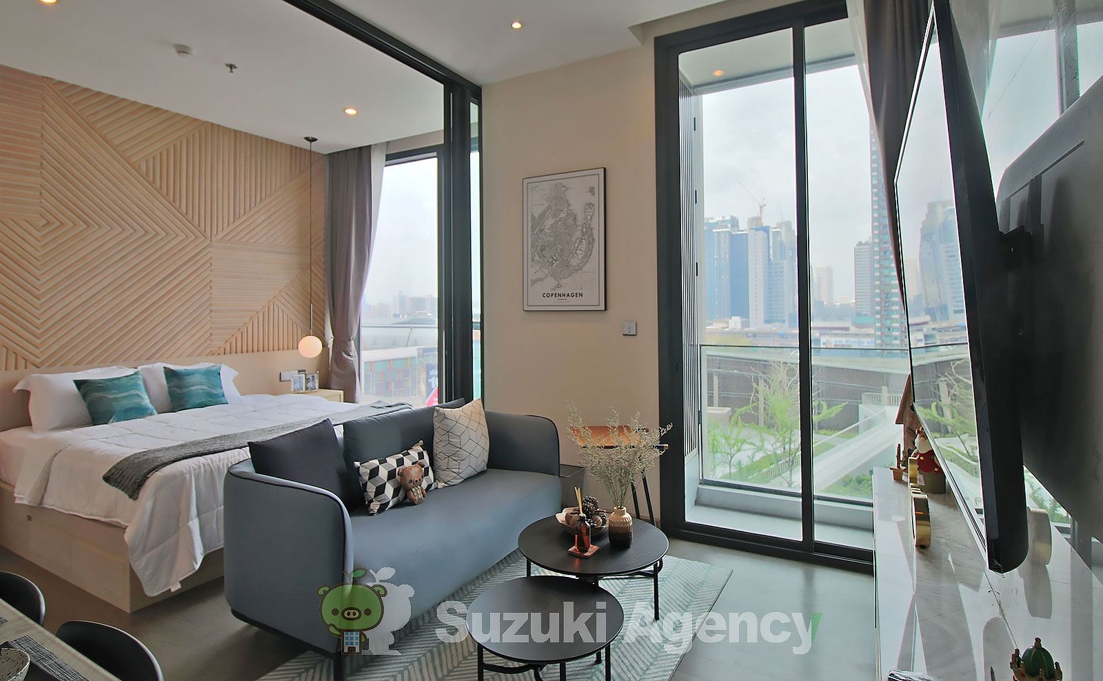 The Esse at Singha Complex:1Bed Room Photos No.2