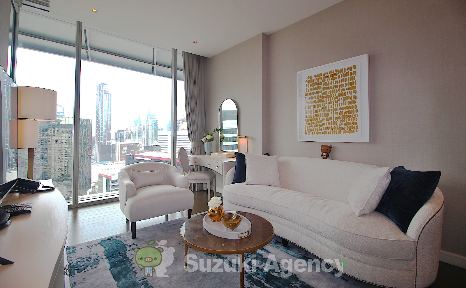 Magnolias Ratchadamri Boulevard Service Residence:1Bed Room Photos No.2