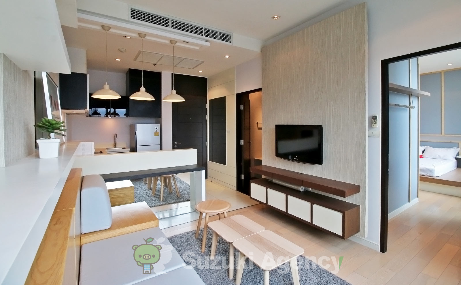 Eight Thonglor Residence:1Bed Room Photos No.3