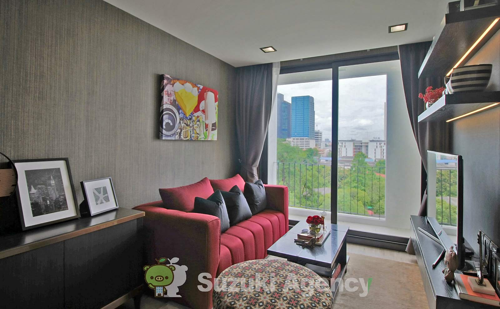 Silver Thonglor Apartment:1Bed Room Photos No.3