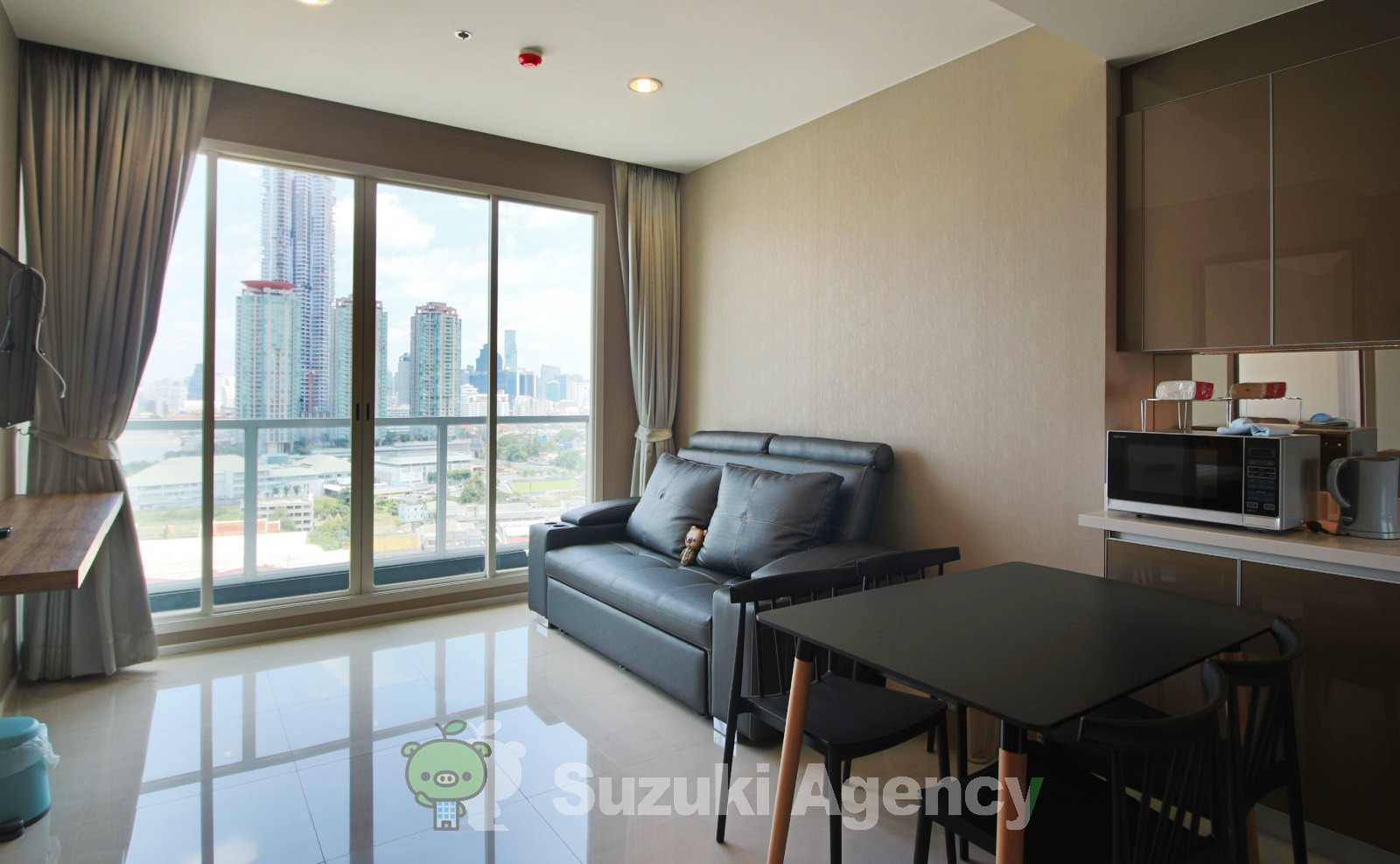 Menam Residences Condominium:1Bed Room Photos No.3