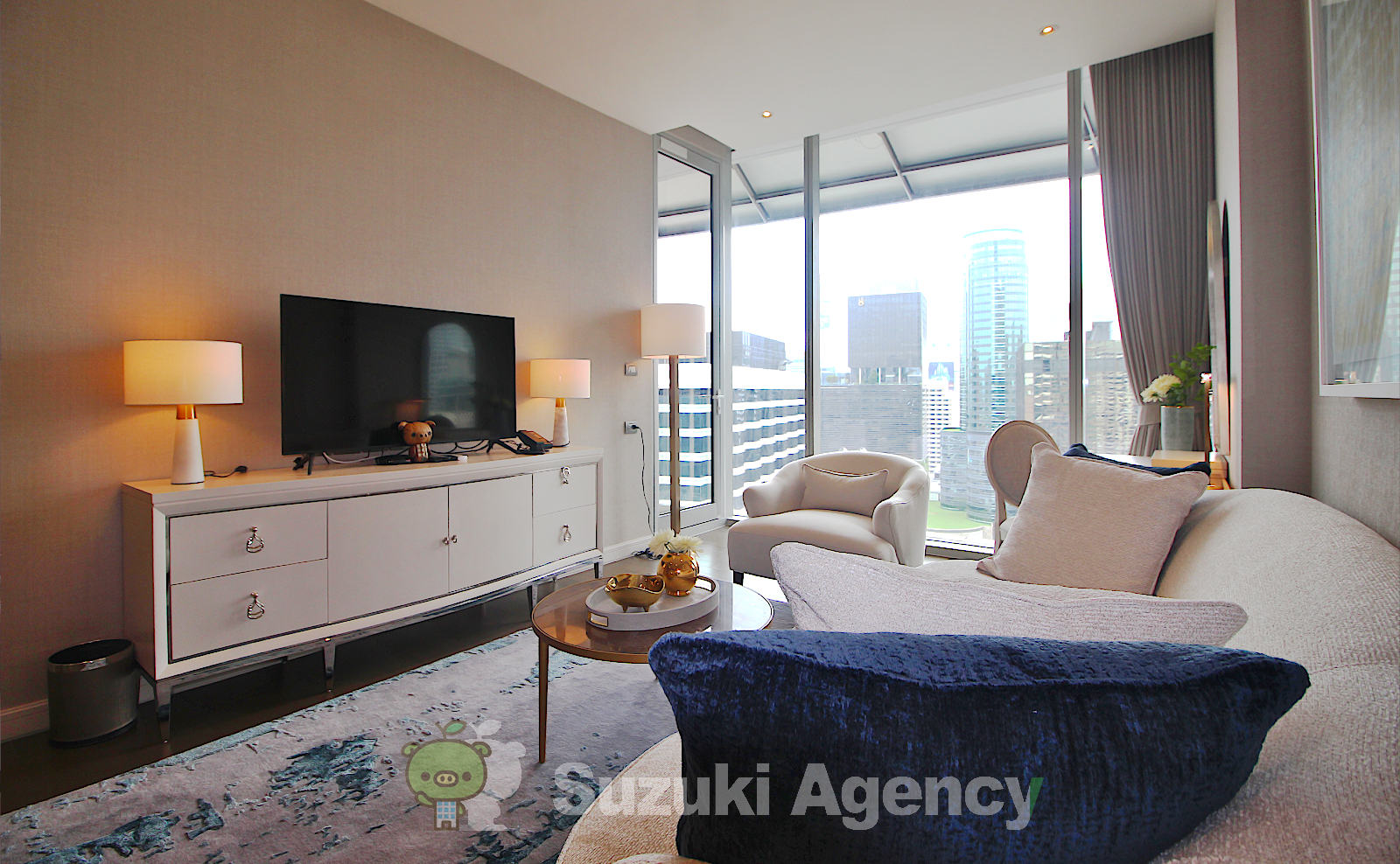 Magnolias Ratchadamri Boulevard Service Residence:1Bed Room Photos No.3