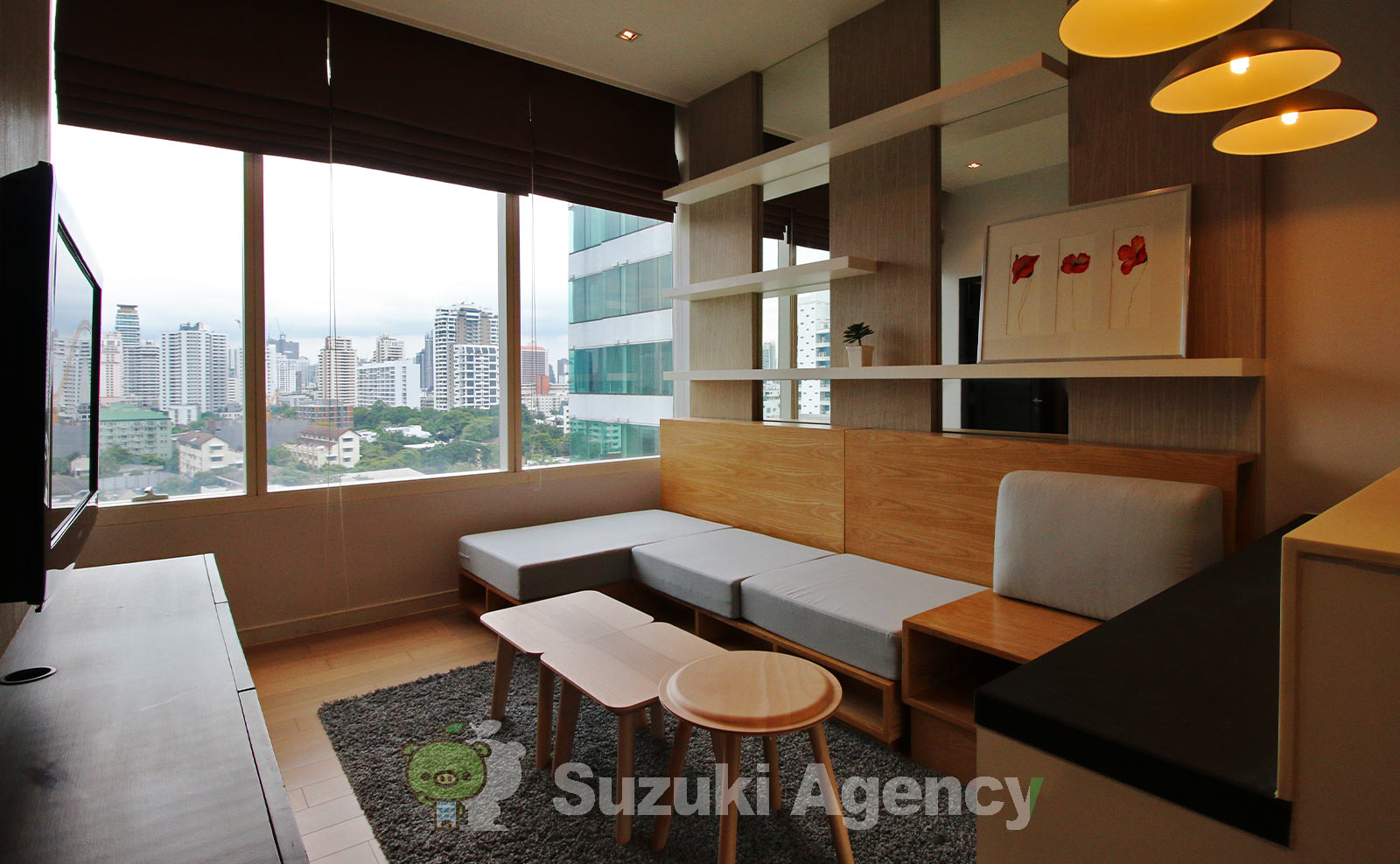 Eight Thonglor Residence:1Bed Room Photos No.5
