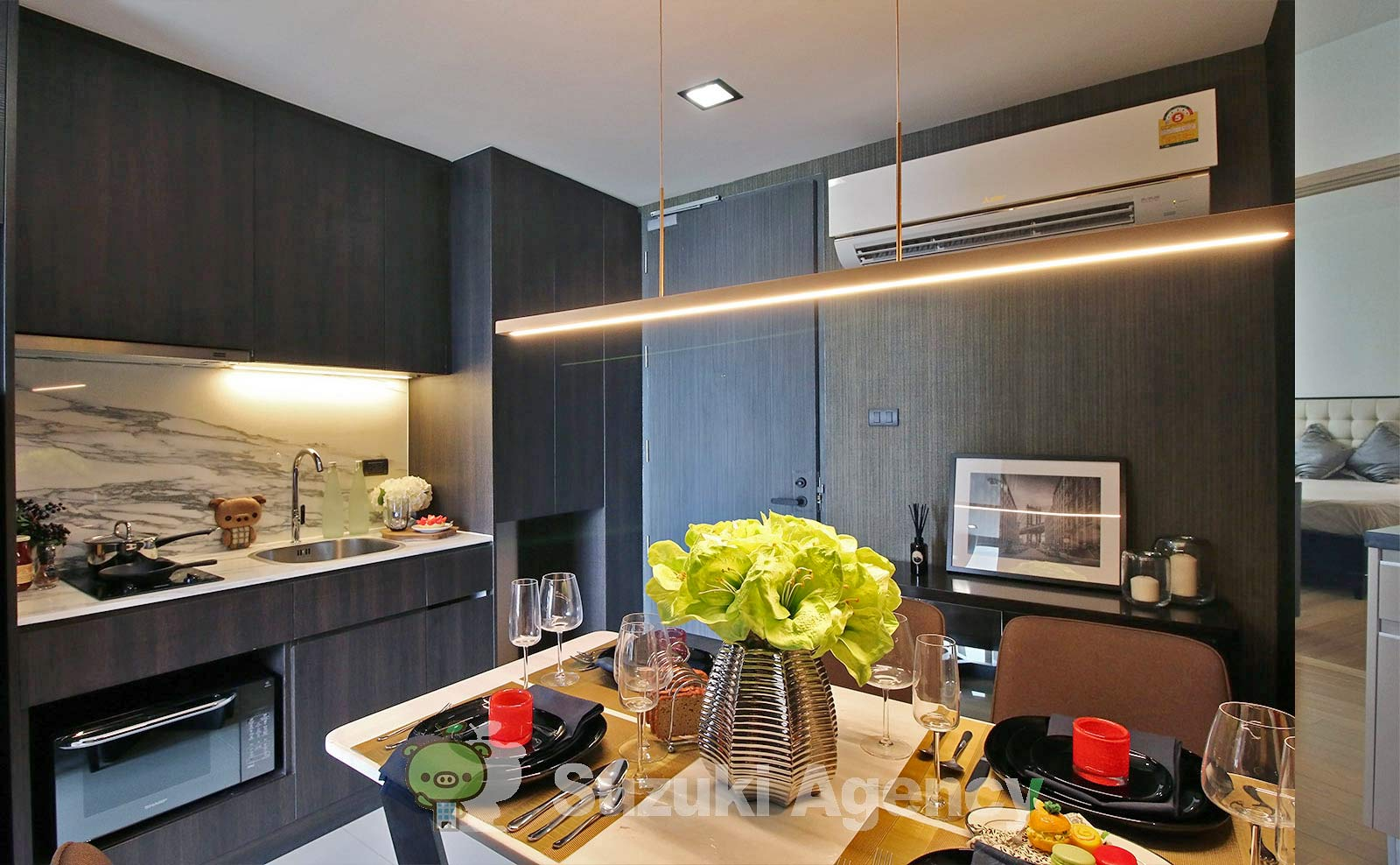 Silver Thonglor Apartment:1Bed Room Photos No.5