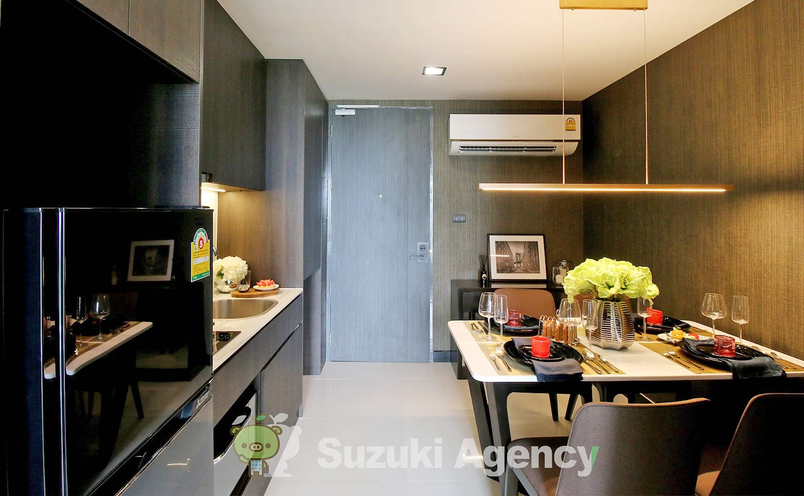 Silver Thonglor Apartment:1Bed Room Photos No.6