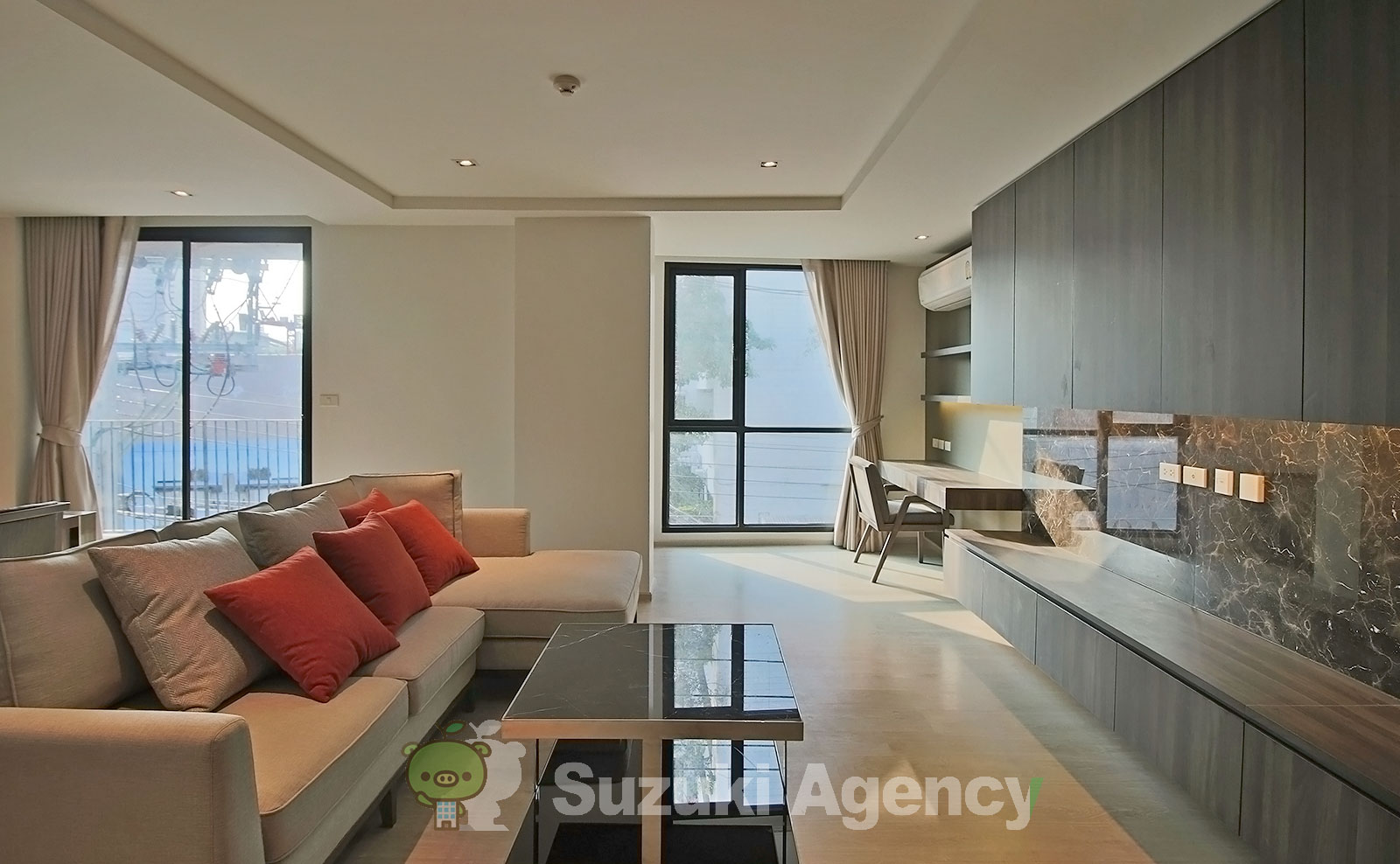 NS Residence Sukhumvit 49:2Bed Room Photos No.1