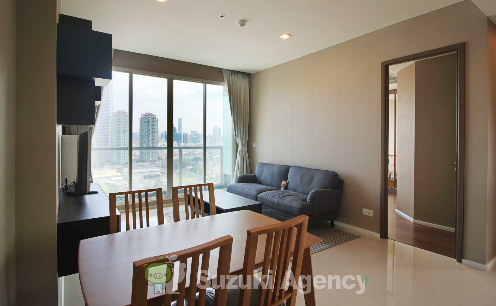 Menam Residences Condominium:2Bed Room Photos No.1