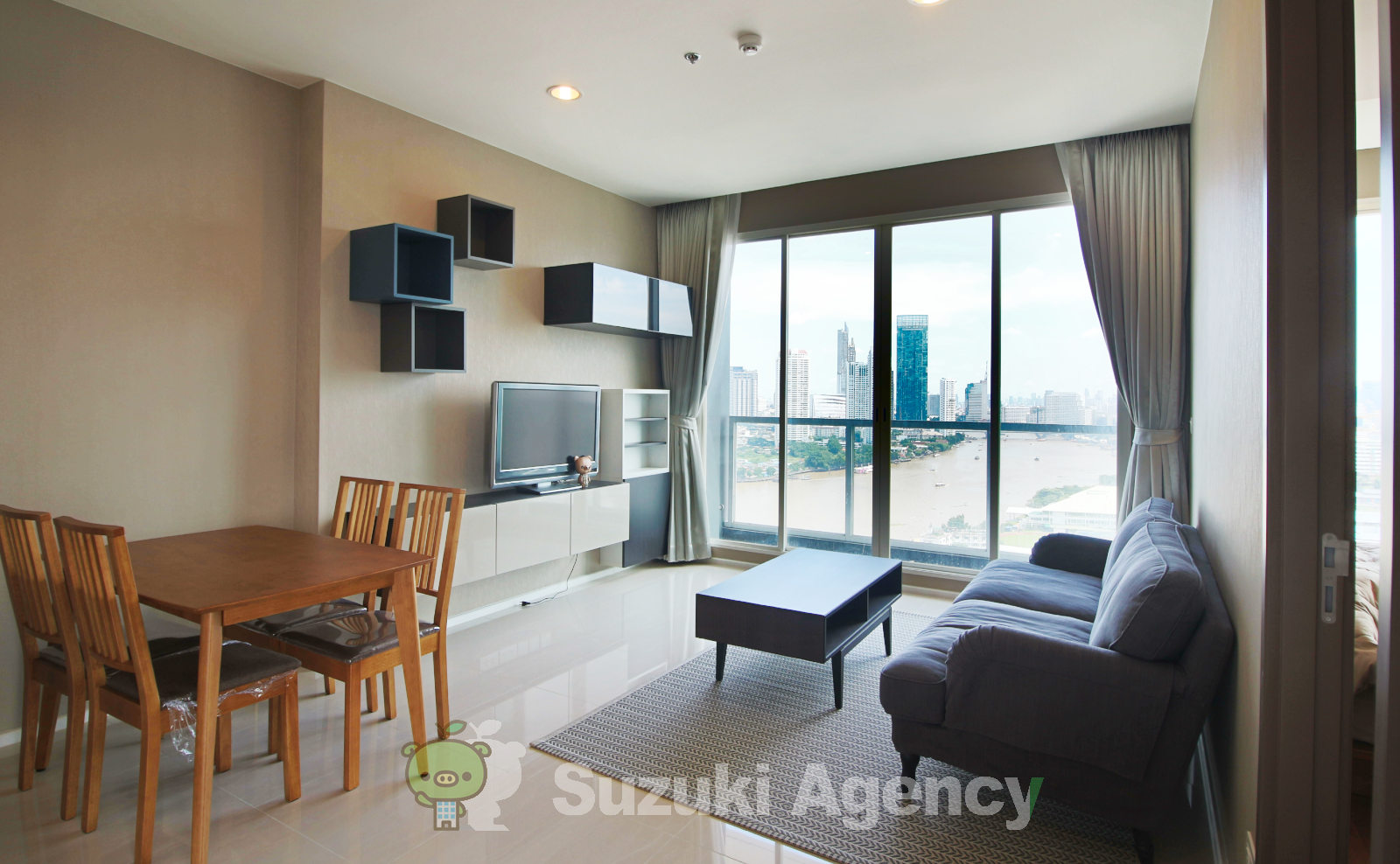 Menam Residences Condominium:2Bed Room Photos No.2