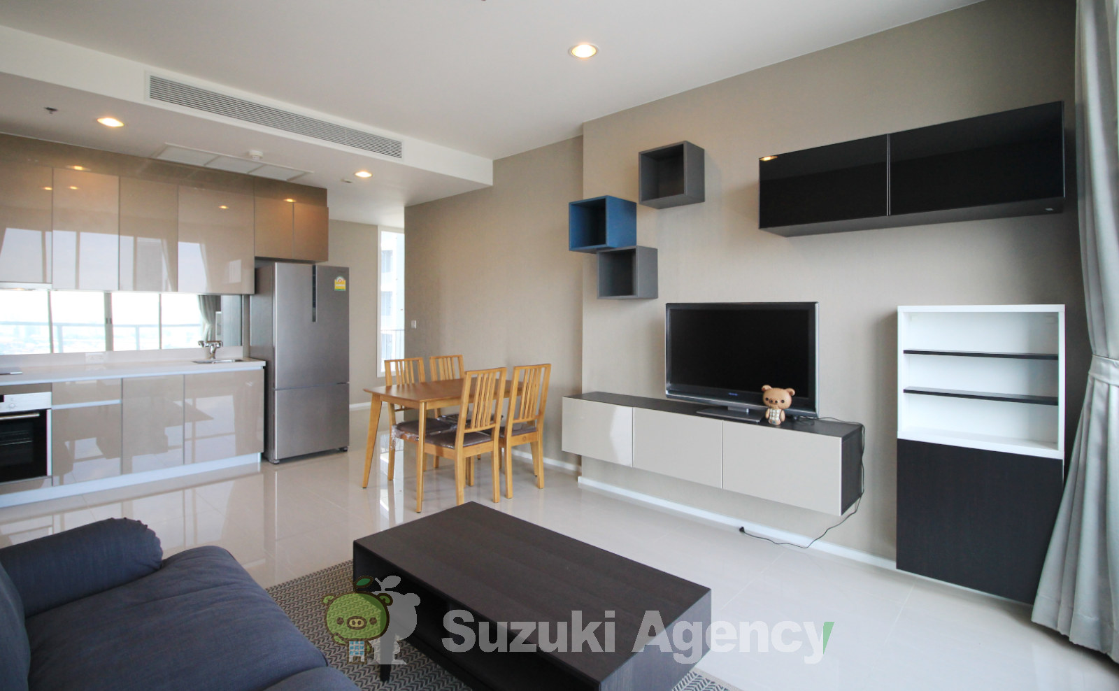 Menam Residences Condominium:2Bed Room Photos No.3