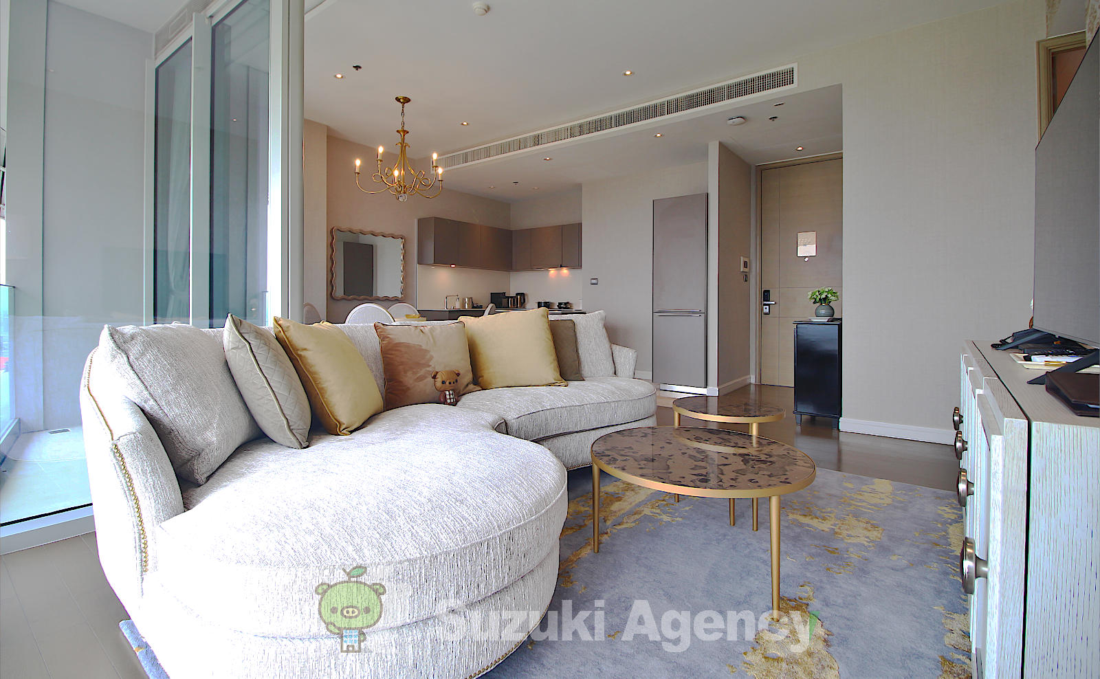 Magnolias Ratchadamri Boulevard Service Residence:2Bed Room Photos No.3
