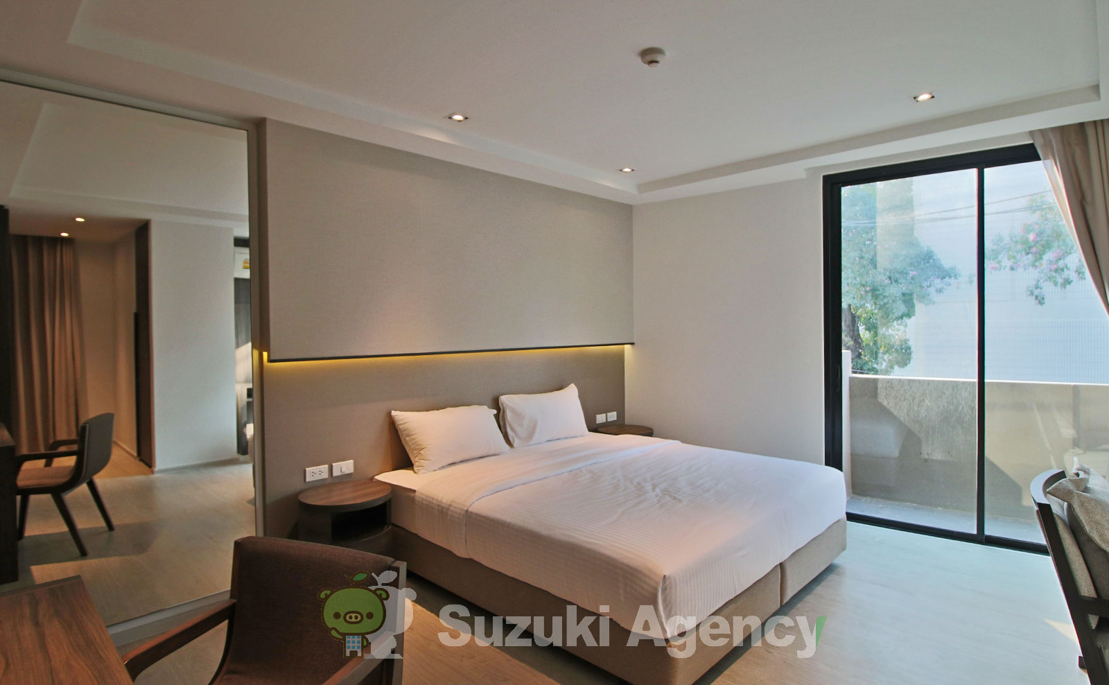 NS Residence Sukhumvit 49:2Bed Room Photos No.7