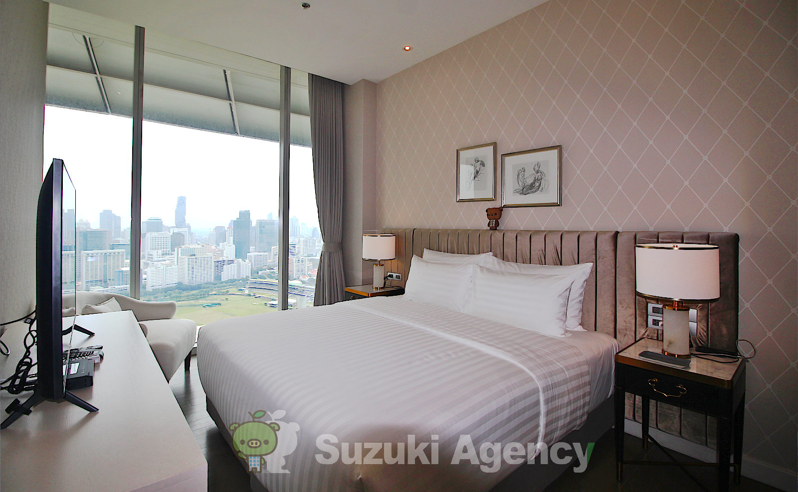 Magnolias Ratchadamri Boulevard Service Residence:2Bed Room Photos No.7
