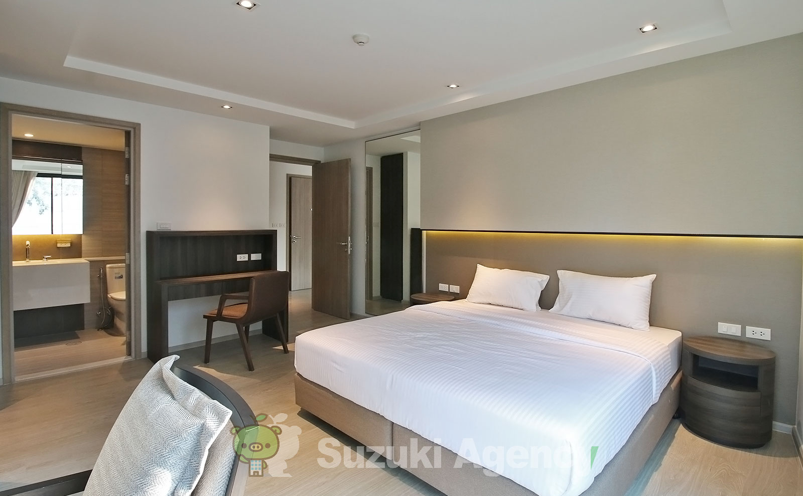 NS Residence Sukhumvit 49:2Bed Room Photos No.8