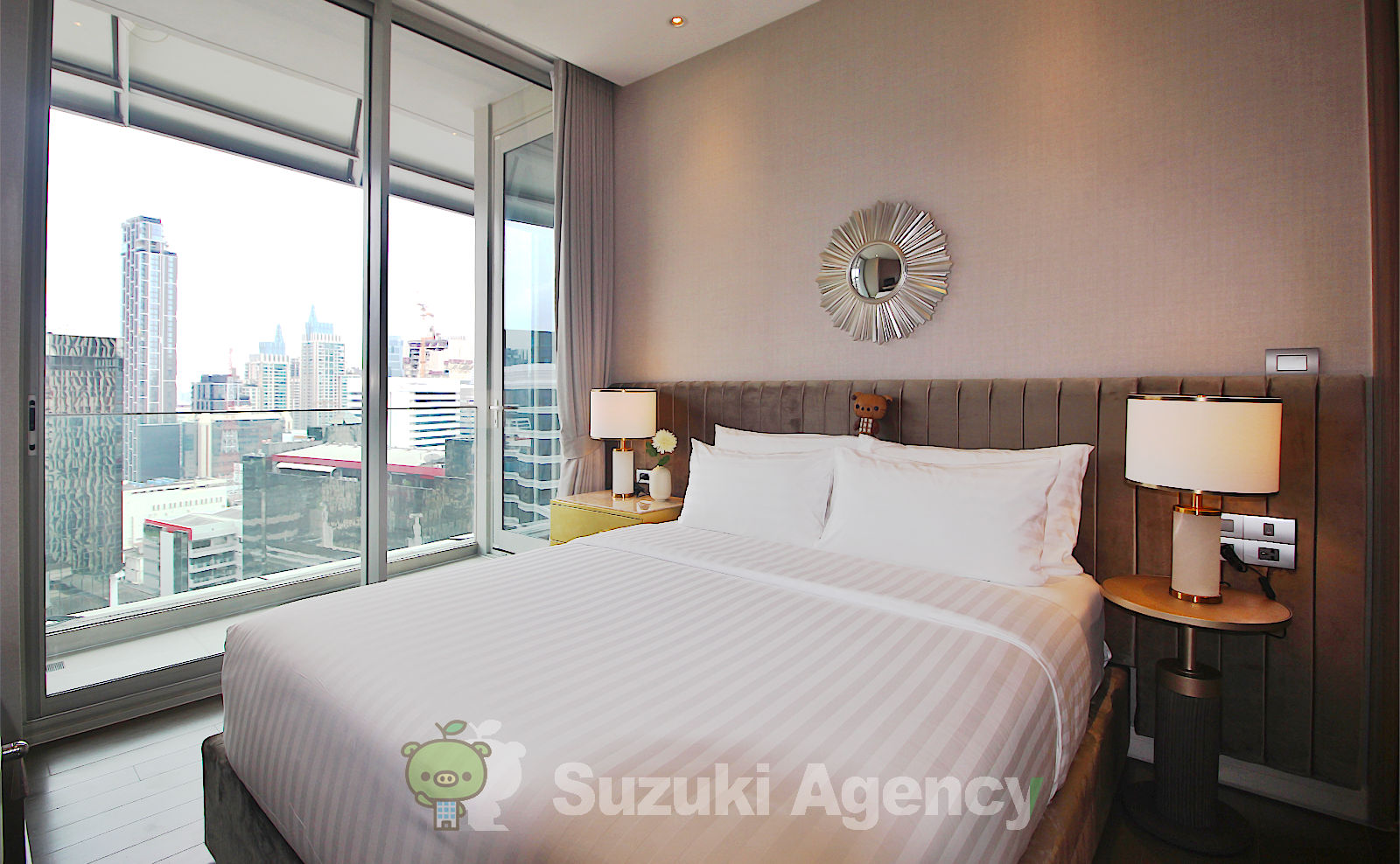 Magnolias Ratchadamri Boulevard Service Residence:1Bed Room Photos No.7